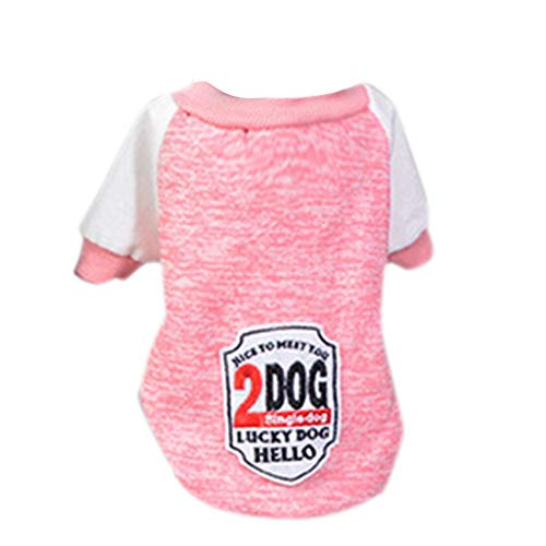 Amphia - Haustier Hund Pullover,Haustier-Hundewelpen-klassischer Strickjacke-Rundhalsausschnitt-Strickjacke kleidet ()