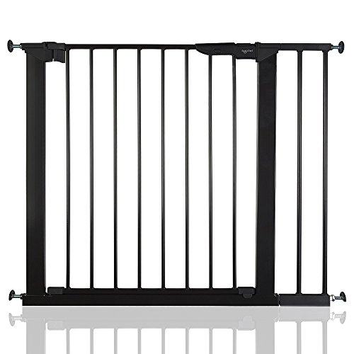 BabyDan Premier True Pressure Fit Baby Safety Stair Gate Black All Widths (86cm-93.3cm)  BabyDan