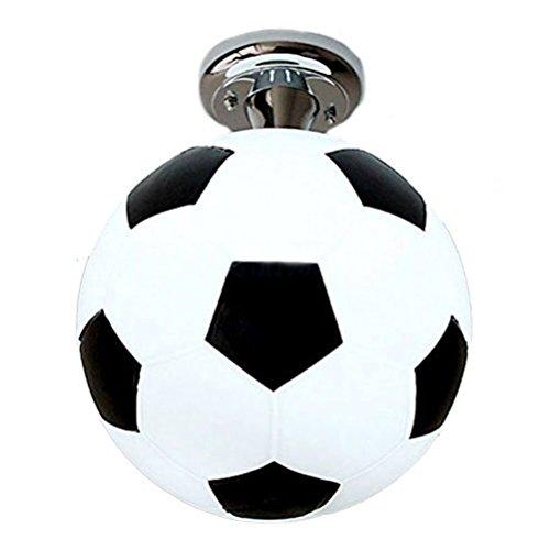 GQLB Balkon Licht kreativ Fußball Deckenleuchte leuchtet (250*100mm), 200 mm Kinder 01 Fußball
