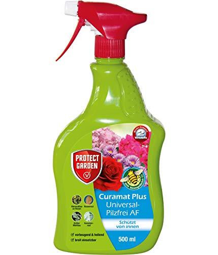 PROTECT GARDEN Curamat Plus Universal-Pilzfrei AF (ehem. Bayer Garten Baymat), Pilzbekämpfung an Rosen und Zierpflanzen, 500 ml