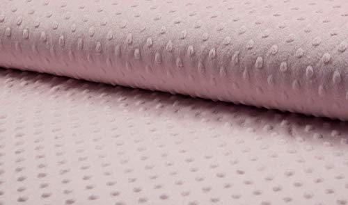 Supersoft Dimple Dot en tissu polaire en tissu doux en peluche pour couvertures enfants Todlers - 150 cm de large (vendu au mètre)