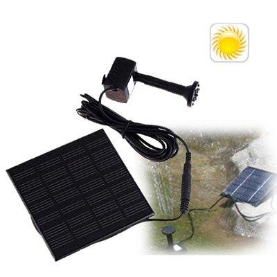 Mini Solarpumpe Sonnenenergie Solarspringbrunnen kleiner Solarbrunnen