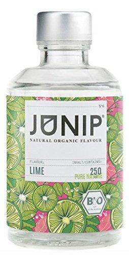 Limettensirup ohne Zucker JUNIP| Idealer Cocktailsirup für Mojito & als Brasilien Caipirinha Cocktail Flavour | Natürlicher Geschmack für Wasser