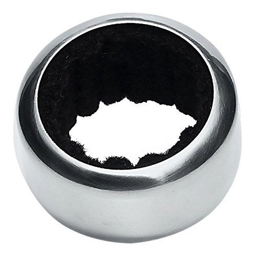 homiez hz0310Drip Ring Ring für Flasche Metall silber 10x 5x 10cm
