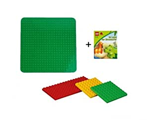 lego duplo 2304 plaque de base verte de 4632 planches jeu. Black Bedroom Furniture Sets. Home Design Ideas