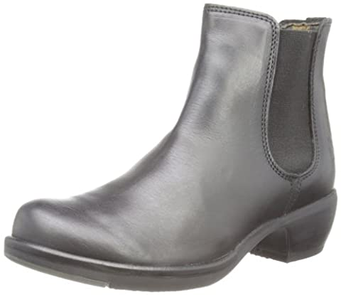 Fly London Make, Damen Chelsea Boots, Schwarz (Black 002), 39 EU (6 Damen UK)