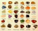 36 Piedras Piedras Preciosas Colección Kit única Cristales Regalo