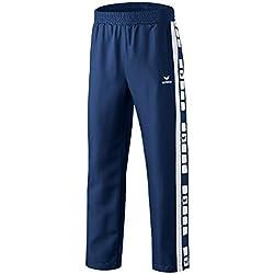 ERIMA Men's T-Shirt with 5Cubes Blue Bleu - blue - New Navy/Wei Size:XXX-Large by Erima