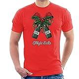 Gingle Bells Christmas Bow Men's T-Shirt