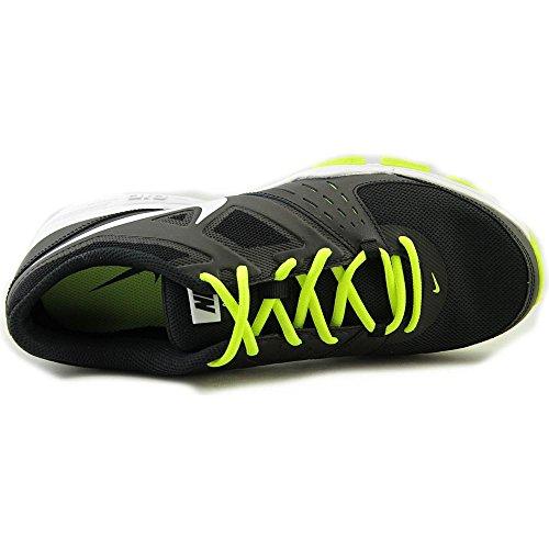Nike Air One Tr, Chaussures de Sport Homme Noir / Blanc / Vert (Black / White-Volt)