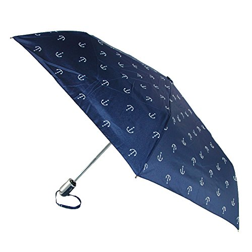 shedrain-womens-auto-open-and-close-rainessentials-compact-umbrella-anchors-navy