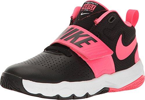 Nike Nike Team Hustle D 8 (Ps) - black/racer pink-white, Größe:12C