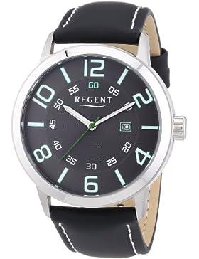 Regent Herren-Armbanduhr XL Anal