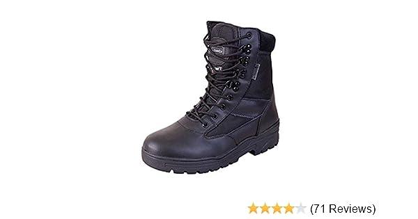 5902f4bff16 Kombat Britsh Army Style Combat Black Military Patrol Hiking Boot Ta Cadet  Work Uk 4-12 - 8 Uk