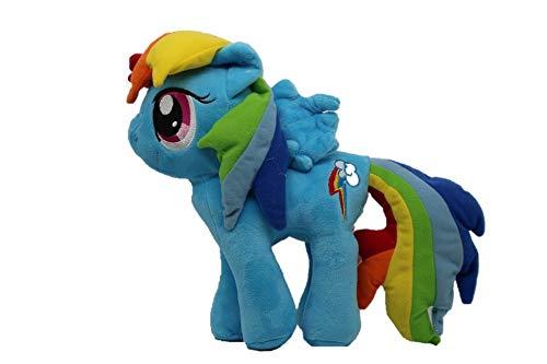 MLP My Little Pony Plüsch für Kinder, Mädchen und Jungen, Fans und Sammler (Rainbow Dash, blau)