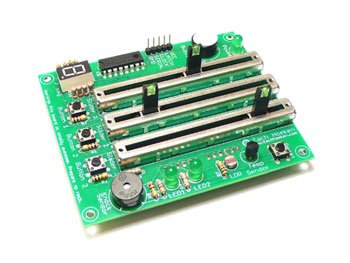 DANGER SHIELD KIT - Montata sopra una scheda Arduino o