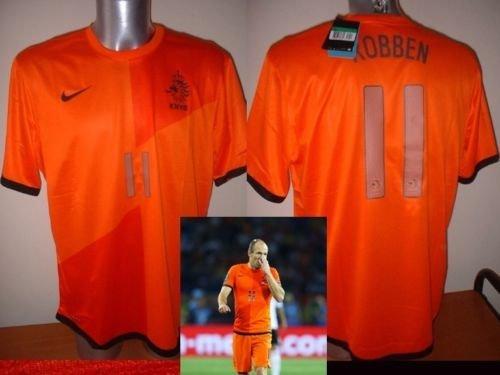 Holland Niederlande BNWT Arjen Robben Shirt Jersey Fußball Nike Erwachsene XL neue Bayern München Munchen