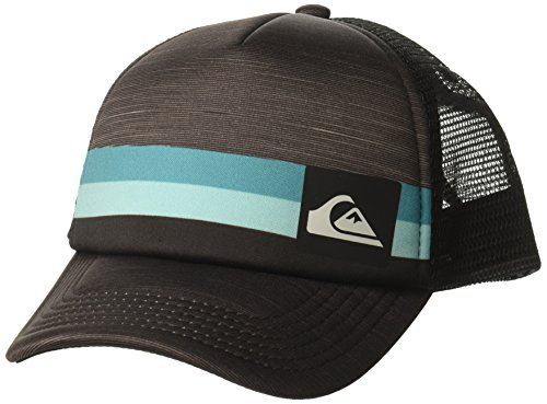 Quiksilver Jahreszeiten-Jungen-Fernlastfahrer-Hut, O/S, Black (Quiksilver Hat Black)