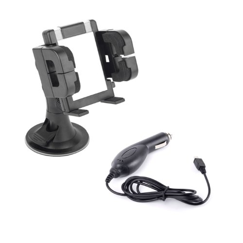 Autohalterungs-Set mit Micro USB Autoladekabel für Samsung GT-B2710 Handy