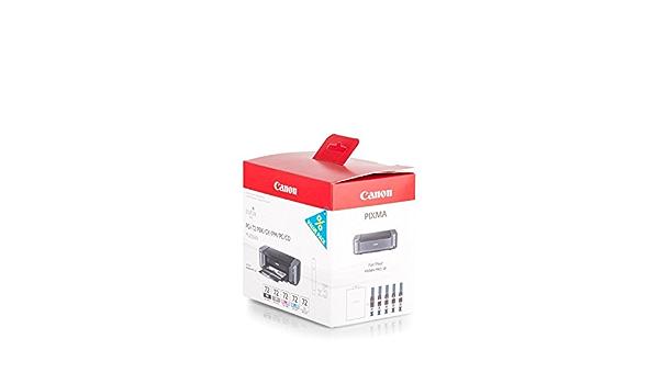 Original Canon 6403b007 Pgi 72 Für Pixma Pro 10 5x Premium Drucker Patrone Schwarz Grau Foto Magenta Foto Cyan Cho 5 X 14 Ml Bürobedarf Schreibwaren