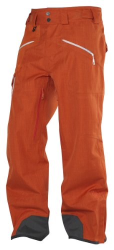 Salomon Herren Quer Hose, Herren, Solar Orange/George Orange-X (Herren Pants George)