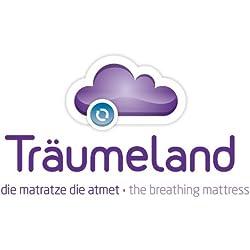 Traümeland Matelas pour Couffin, Wash, 73 x 28 cm