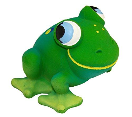 Naturkautschuk Babyspeilzeug Kleinkindspielzeug Beissring Badewannespielzeug FRANKIE der Frosch