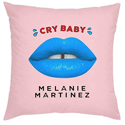 ot Melanie Martinez Cushion Cover Melanie Martinez Crying Baby Toss Pillows Gift Decoration Square Pillow Cases Bot ()