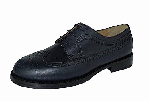 Gallucci 2051b avec motif Budapest, Chaussures garçon Bleu - Bleu marine