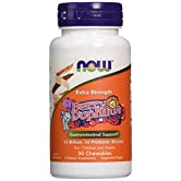 Berry Dophilus, Extra Strength, 50 Chewables - Now Foods - UK Seller - 41HQALvOWNL. SS166