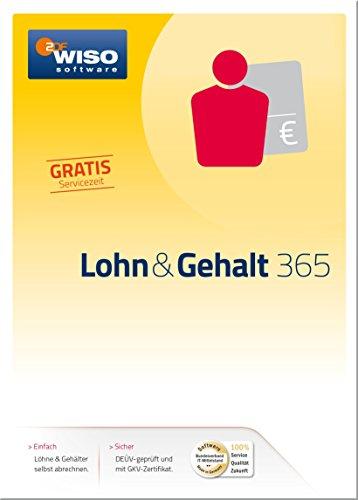 Produktbild WISO Lohn & Gehalt 365 (Version 2017) [PC Download]