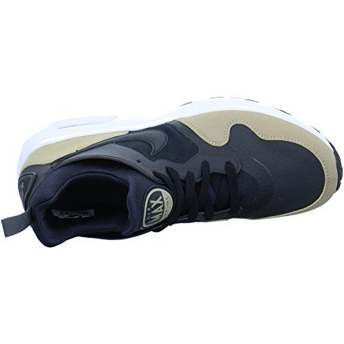 Nike Herren Air Max Prime SL Schwarz Textil/Synthetik Sneaker Schwarz (Black/Khaki/Dark Grey)