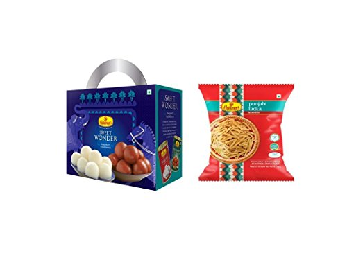 Haldirams Nagpur Sweet Wonder + Punjabi Tadka  available at amazon for Rs.296