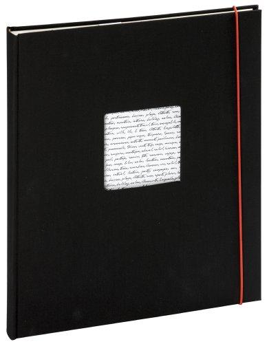 Panodia - 271027 - Album photo adhésif Linéa noir - 30x24cm