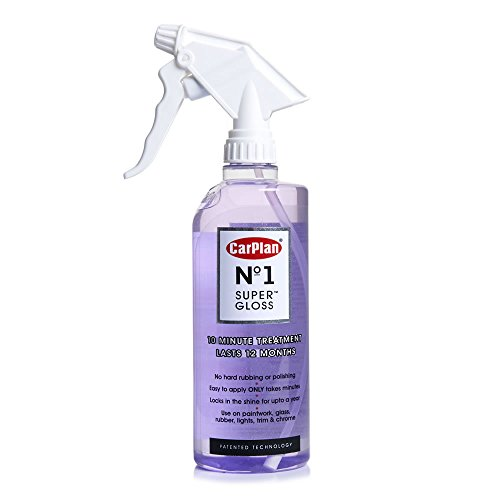 Price comparison product image Carplan No.1 Super Gloss 600ml - Car Paintwork Glass Rubber Chromer Treatment