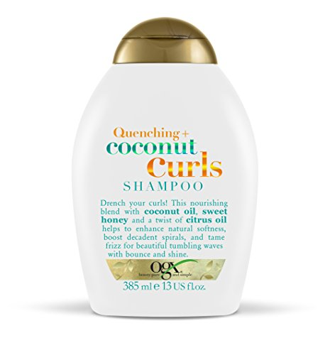 OGX Quenching with Coconut Curls Shampoo, 385 ml