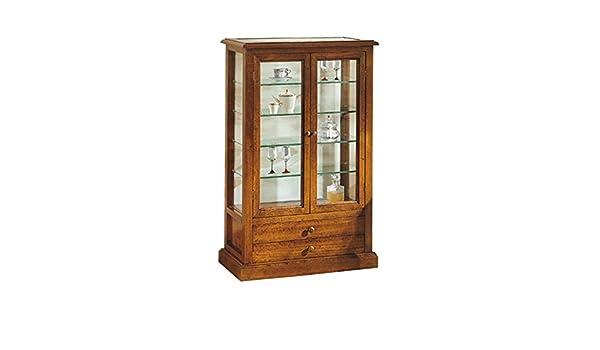 Credenza In Arte Povera Con Vetrina : Inhouse srls vetrina arte povera in legno massello e mdf con
