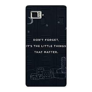 Neo World Little Things Back Case Cover for Lenovo K920
