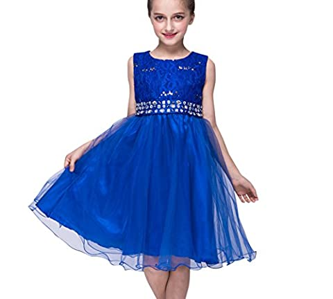 ZAMME Girls Flower Children's Costumes For kids Princess Party Wedding
