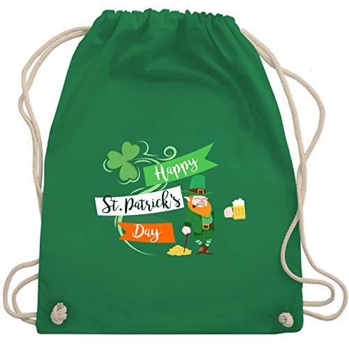 St. Patricks Day - Happy St. Patricks Day Kobold - Unisize - Grün - WM110 - Turnbeutel & Gym ()