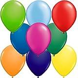 partydiscount24 1000 x Luftballons Ø 25 cm | Freie Farbauswahl | 17 Ballon Farben (Bunt Gemischt)