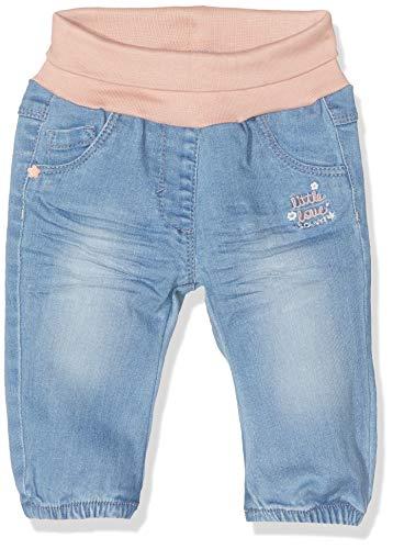 s.Oliver RED LABEL Unisex - Baby Jeans mit Umschlagbund blue denim stretch 80.REG