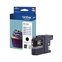 Brother LC123BK Cartuccia InkJet Originale, Alta Capacità, fino a 600 Pagine, per Stampanti MFCJ470DW, MFCJ650DW, MFCJ870DW, MFCJ4410DW, MFCJ4510DW, MFCJ4610DW, MFCJ4710DW, MFCJ6520DW, Nero