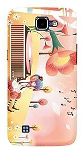 TrilMil Printed Designer Mobile Case Back Cover For LG K4