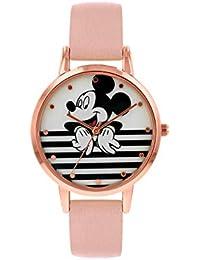 Disney Reloj Análogo clásico para Mujer de Cuarzo con Correa en ...