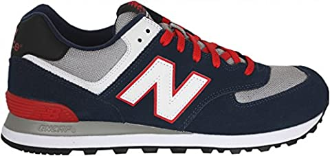 NEW BALANCE ML 574–Chaussures pour homme - - Bleu, 41,5