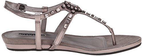 Kenneth Cole Reaction Lost Vegas Synthétique Sandale Pewter
