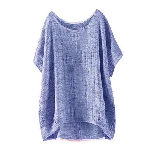Oberteile,Neu Große Größen Schrägstrich Hals Bogen Bandage Manschette Langarm Drucken Übergröße Tops Bluse T Shirt Räumungsverkauf XS-5XL ()