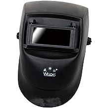 MagiDeal Casco De Soldadura Ajustable Tig Mig Grinding Headset Soldador Máscara Negro