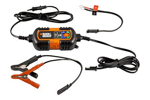 Oferta de Black + Decker BDV090 Cargador De Baterias, 6-12V De Mantenimiento